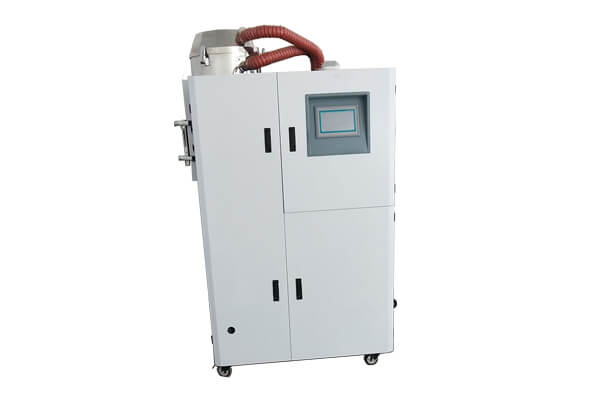 Plastic dehumidifying dryer