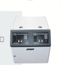 Two-stage mold temperature controller